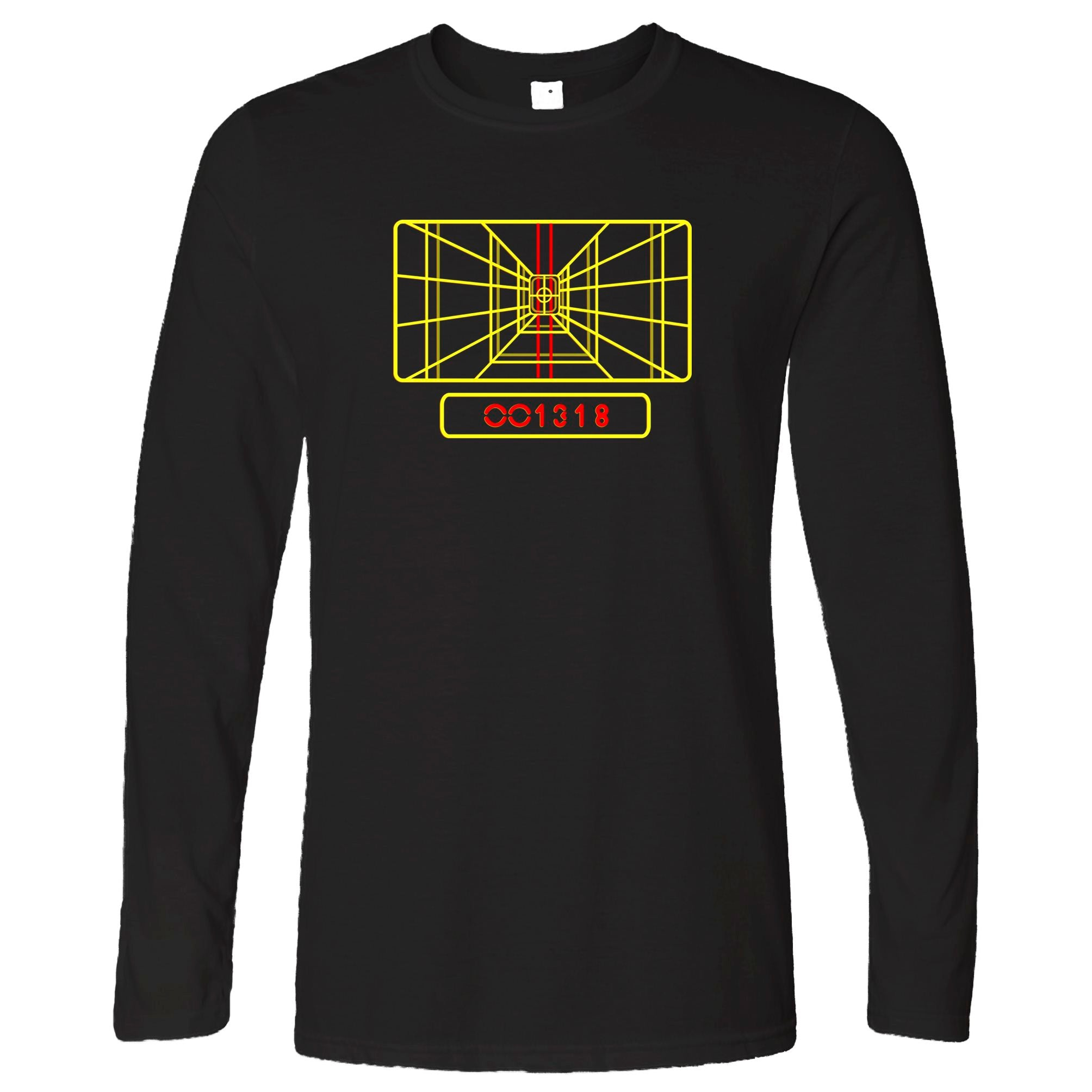 Luke's Almost There Targeting Computer Long Sleeve T-Shirt