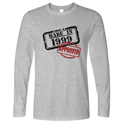 21st Birthday Long Sleeve Distressed Made in 1999 Approved T-Shirt