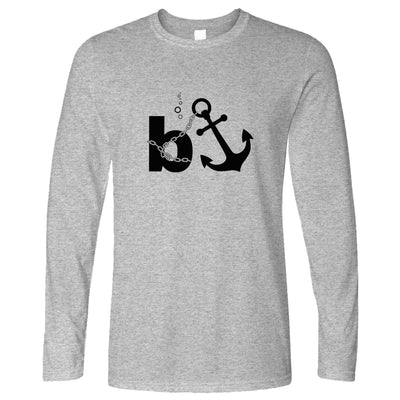 Capitalism Long Sleeve B Anchor Banker Joke T-Shirt