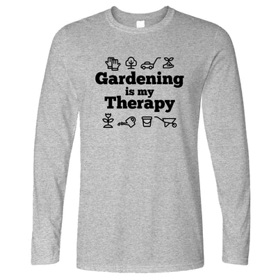 Gardening is My Therapy Long Sleeve