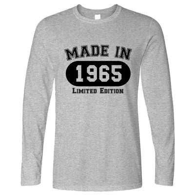 Birthday Long Sleeve Made in 1965 Limited Edition T-Shirt