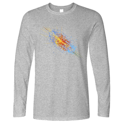 Particle Physics Long Sleeve Higgs Boson Discovery Art T-Shirt