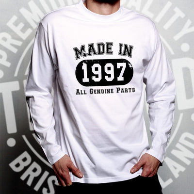 Birthday Long Sleeve Made in 1997 All Genuine Parts T-Shirt