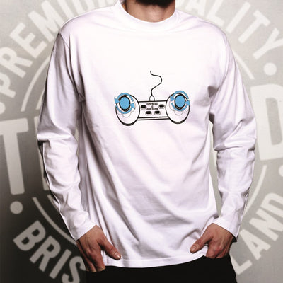 Video Game Long Sleeve Gaming Is Awesome Controller T-Shirt