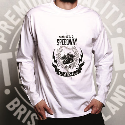 Long Sleeve Speedway Motorbike Racing Top