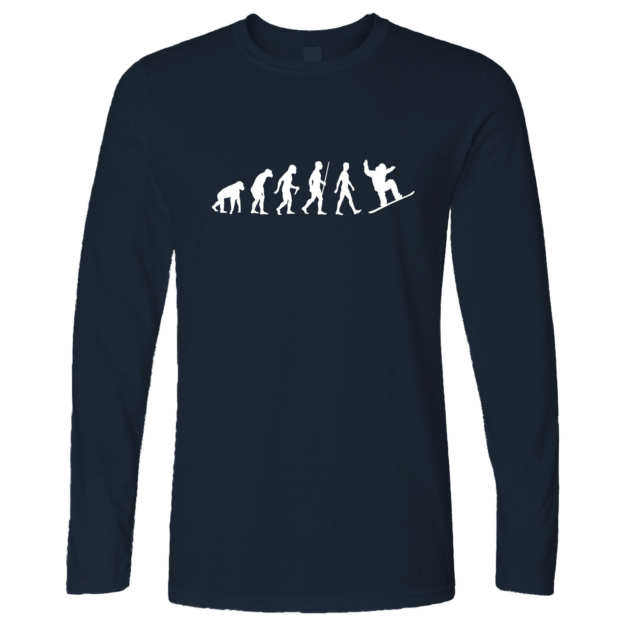 Sports Long Sleeve The Evolution Of A Snowboarder