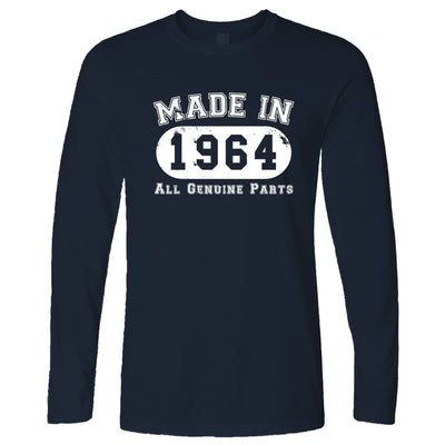 Birthday Long Sleeve Made in 1964 All Genuine Parts T-Shirt