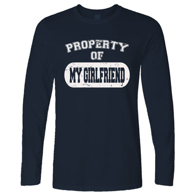 Valentine's Day Long Sleeve Property Of My Girlfriend