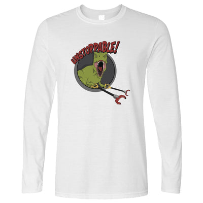 Novelty Long Sleeve Unstoppable T-Rex With Grabber Hands T-Shirt