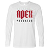 Pro Gaming Long Sleeve Apex Predator Slogan T-Shirt