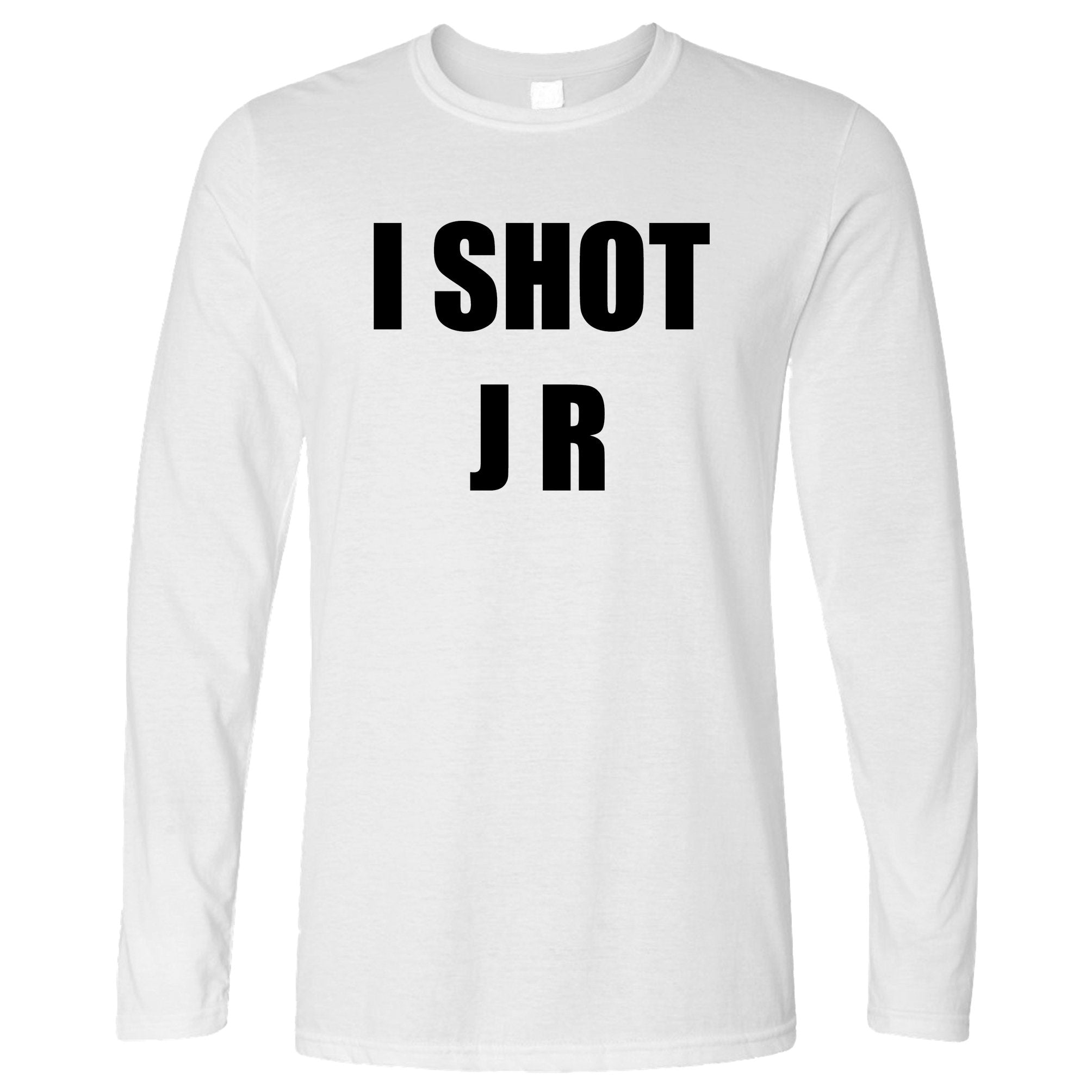 TV Parody Long Sleeve I Shot J R Ewing Slogan T-Shirt