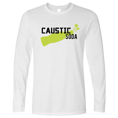 Novelty Gaming Long Sleeve Caustic Soda Drink T-Shirt