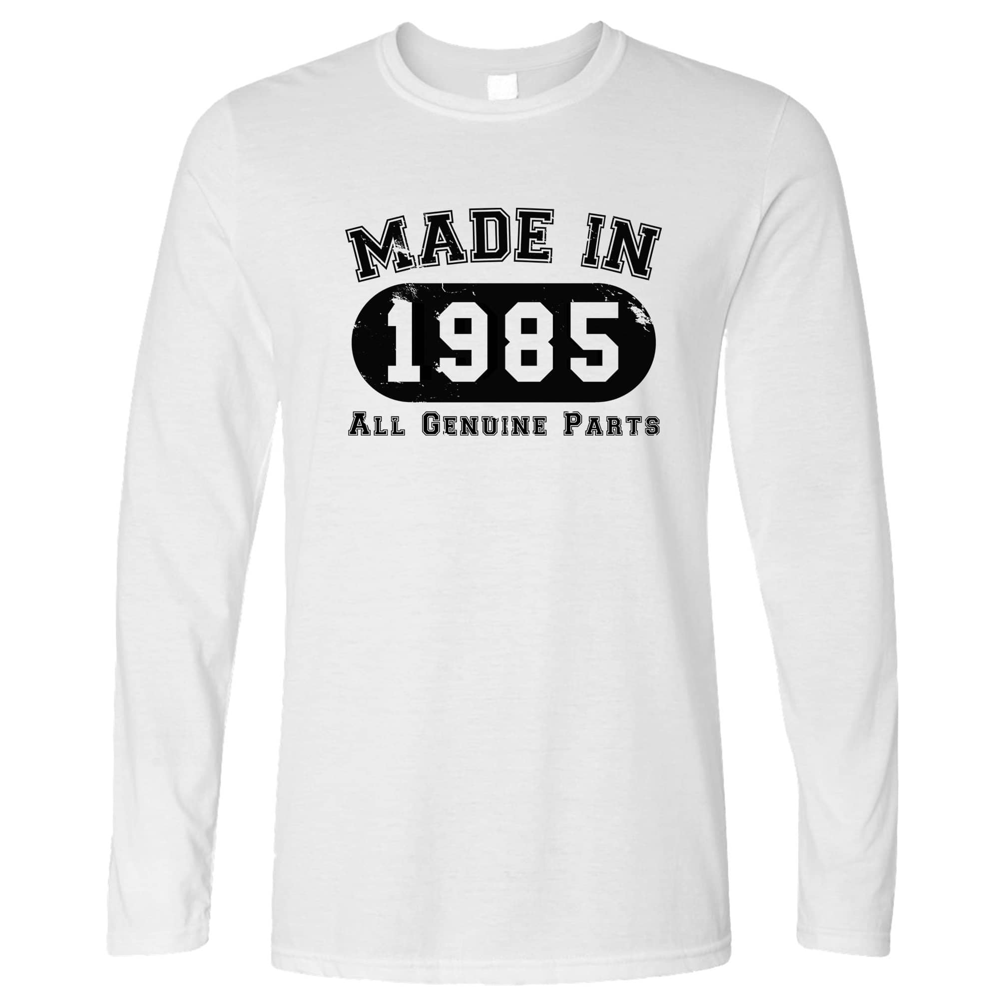 Birthday Long Sleeve Made in 1985 All Genuine Parts T-Shirt