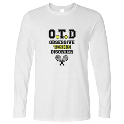 Sports Long Sleeve OTD - Obsessive Tennis Disorder Logo T-Shirt
