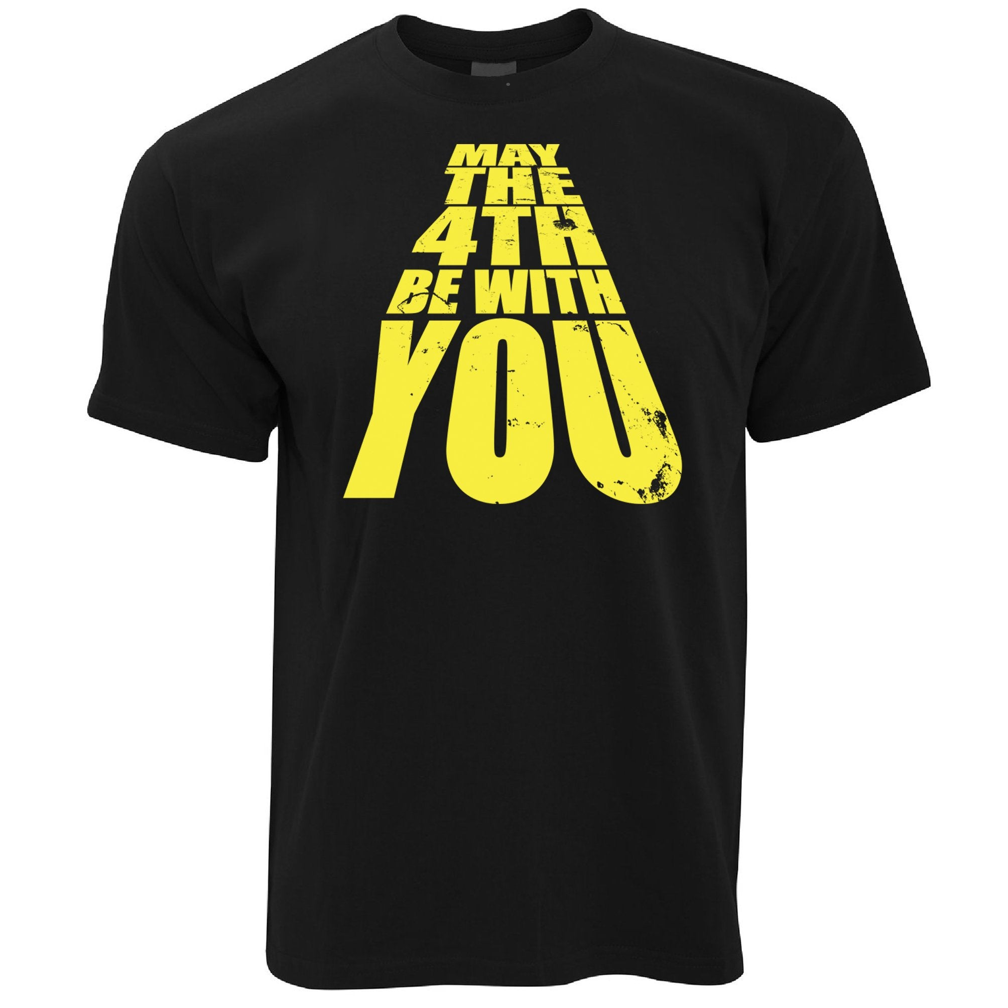 Geek T Shirt May The 4th Be With You Slogan