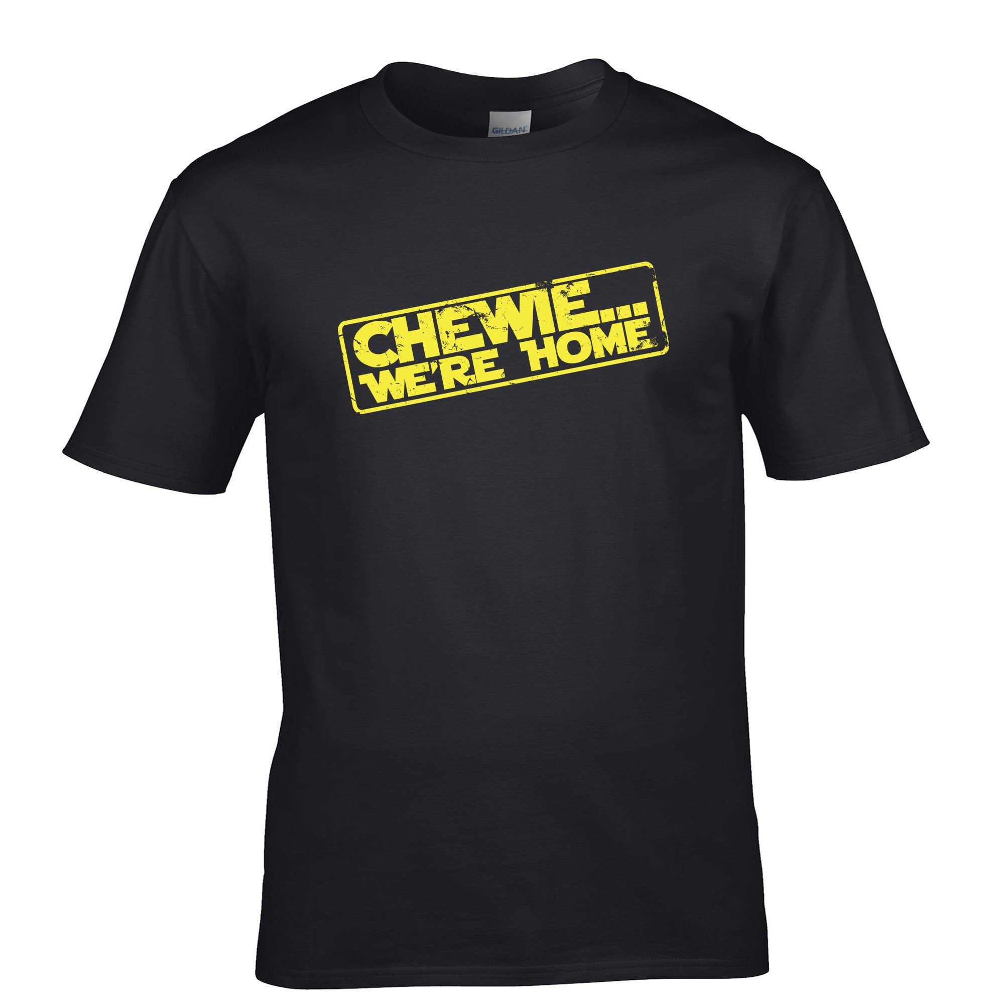 We're Home Chewie Mens T-Shirt