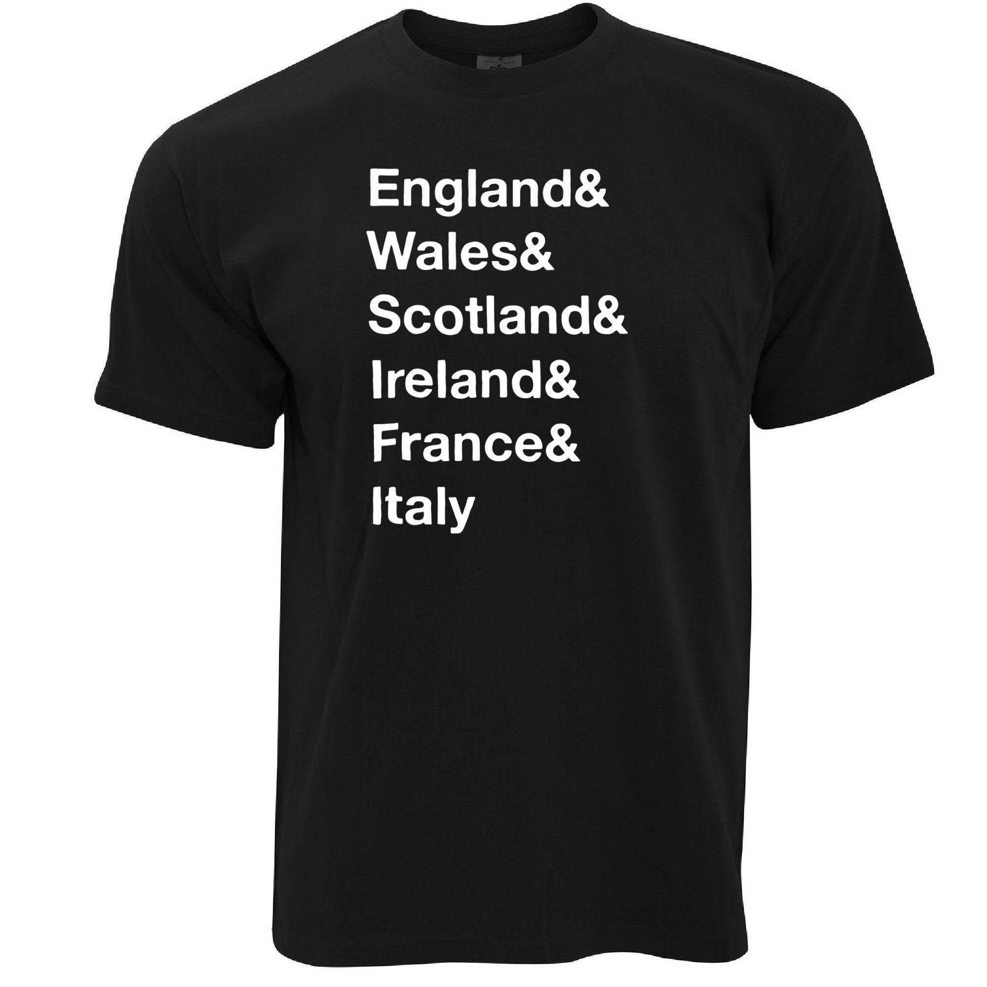The Six Nations T Shirt England, Wales, Scotland