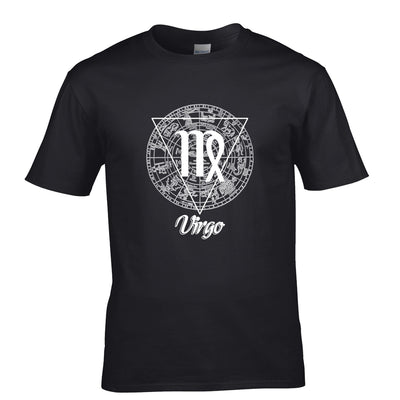 Horoscope T Shirt Virgo Zodiac Star Sign Birthday