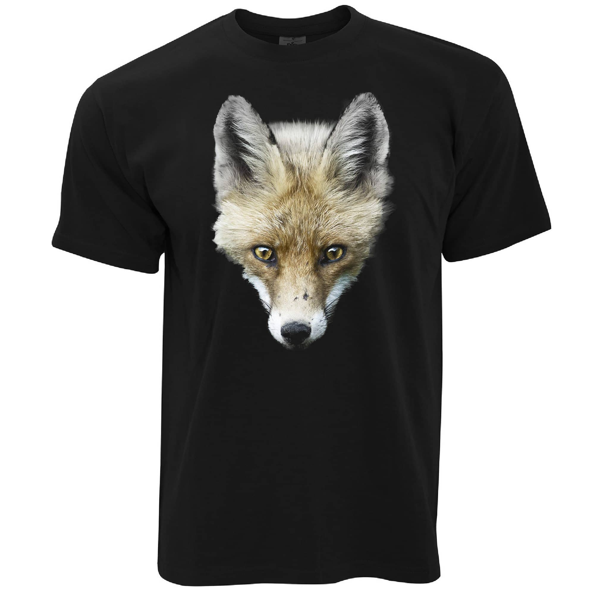 Fox T Shirt Photographic Animal Head Design
