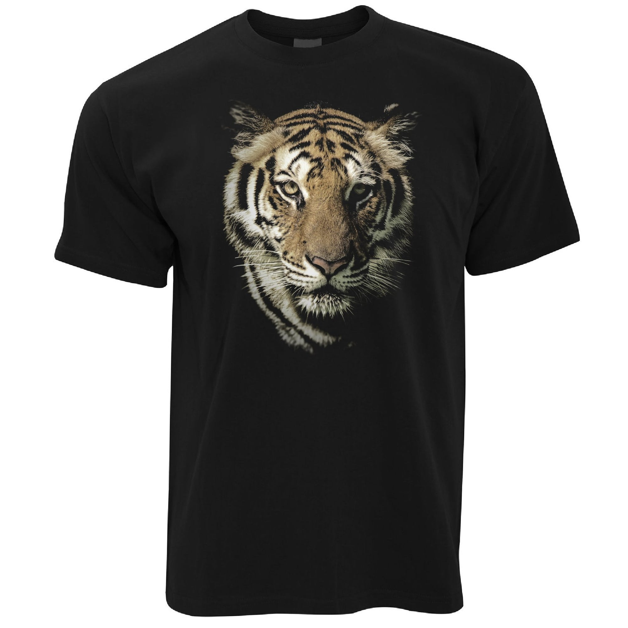 Tiger Face T Shirt Majestic Big Cat Head