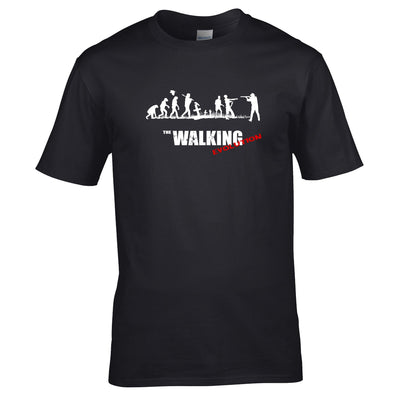 Walking Dead Inspired Zombie Evolution Mens T-Shirt