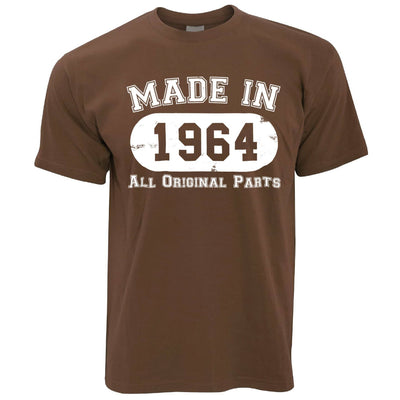 Made in 1964 All Original Parts Mens T-Shirt [Distressed]