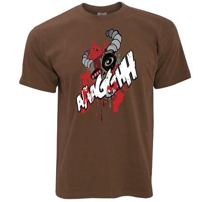 Cartoon Monster T Shirt Scary Ogre Face