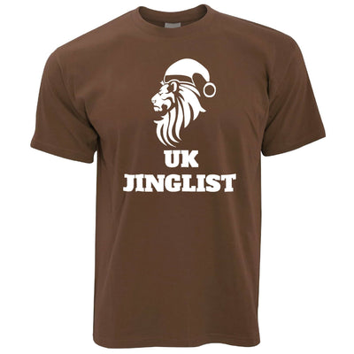 Christmas Parody T Shirt UK Jinglist Lion