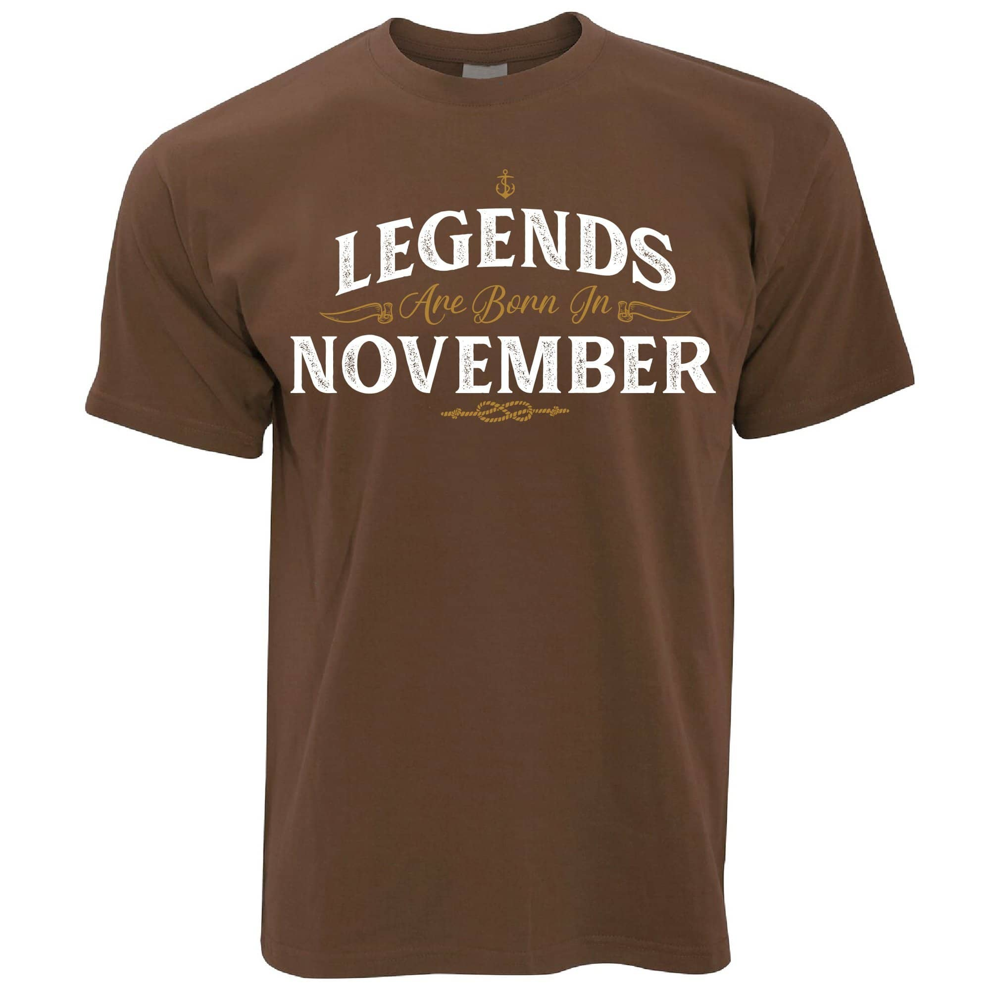 Birthday T Shirt Legends Are Born In November
