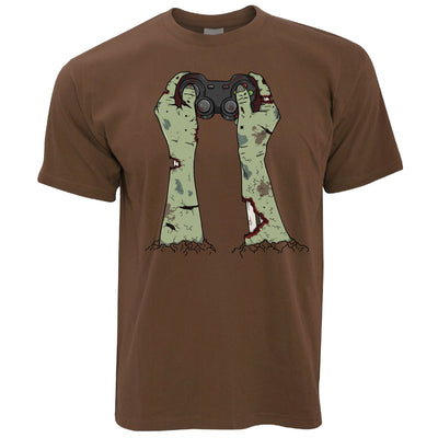 Halloween Gaming T Shirt Zombie Gamer With Controller