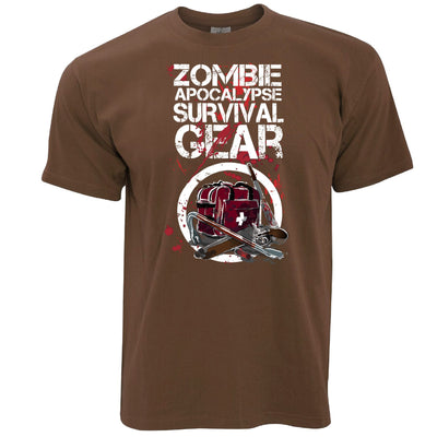 Halloween T Shirt Zombie Apocolypse Survival Gear