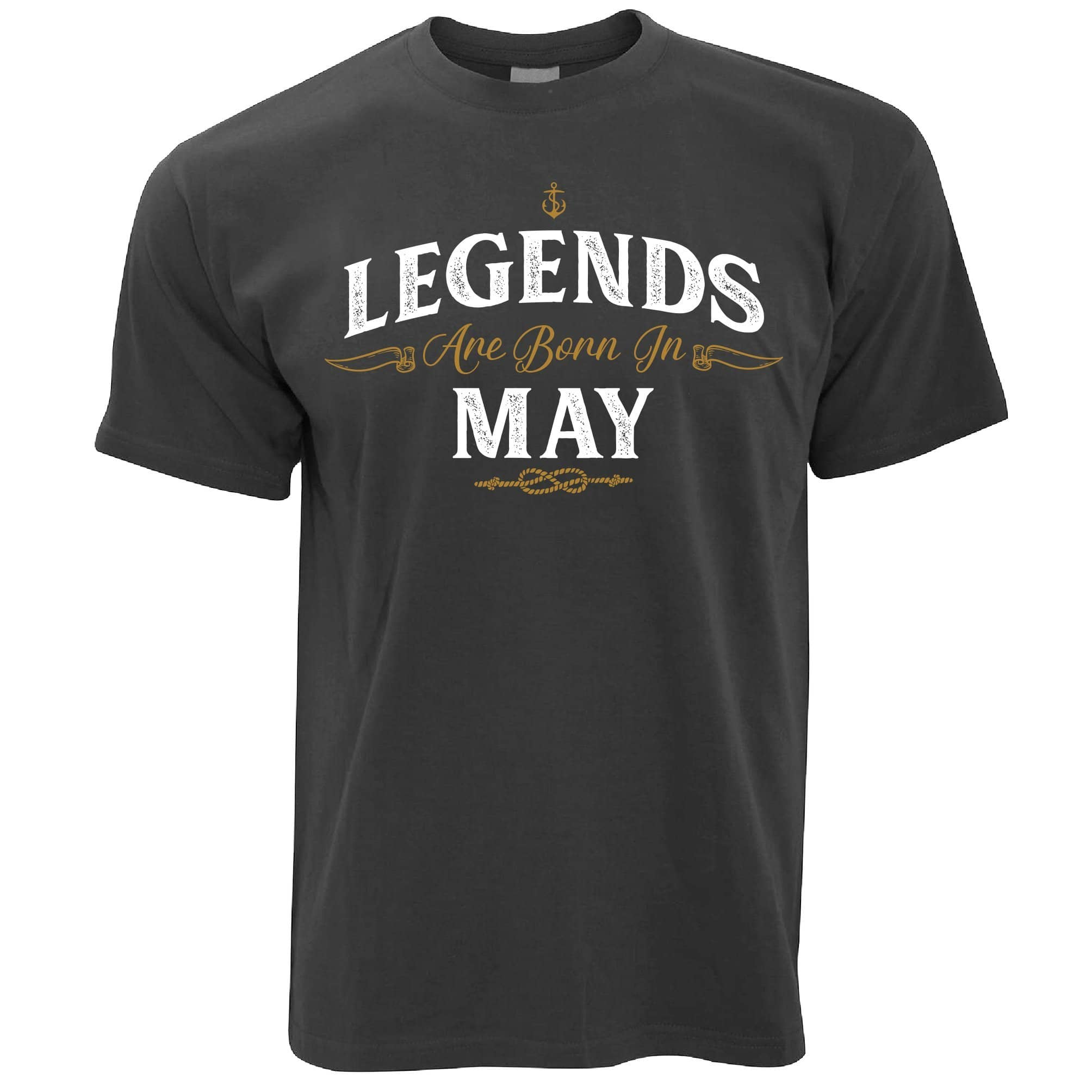 Birthday T Shirt Legends Are Born In May