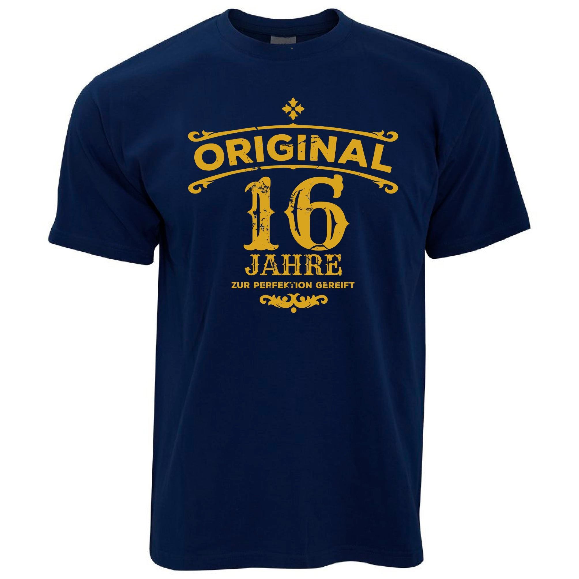 Mens 16th Birthday T Shirt Original Aged Sixteen 16 Years Tee