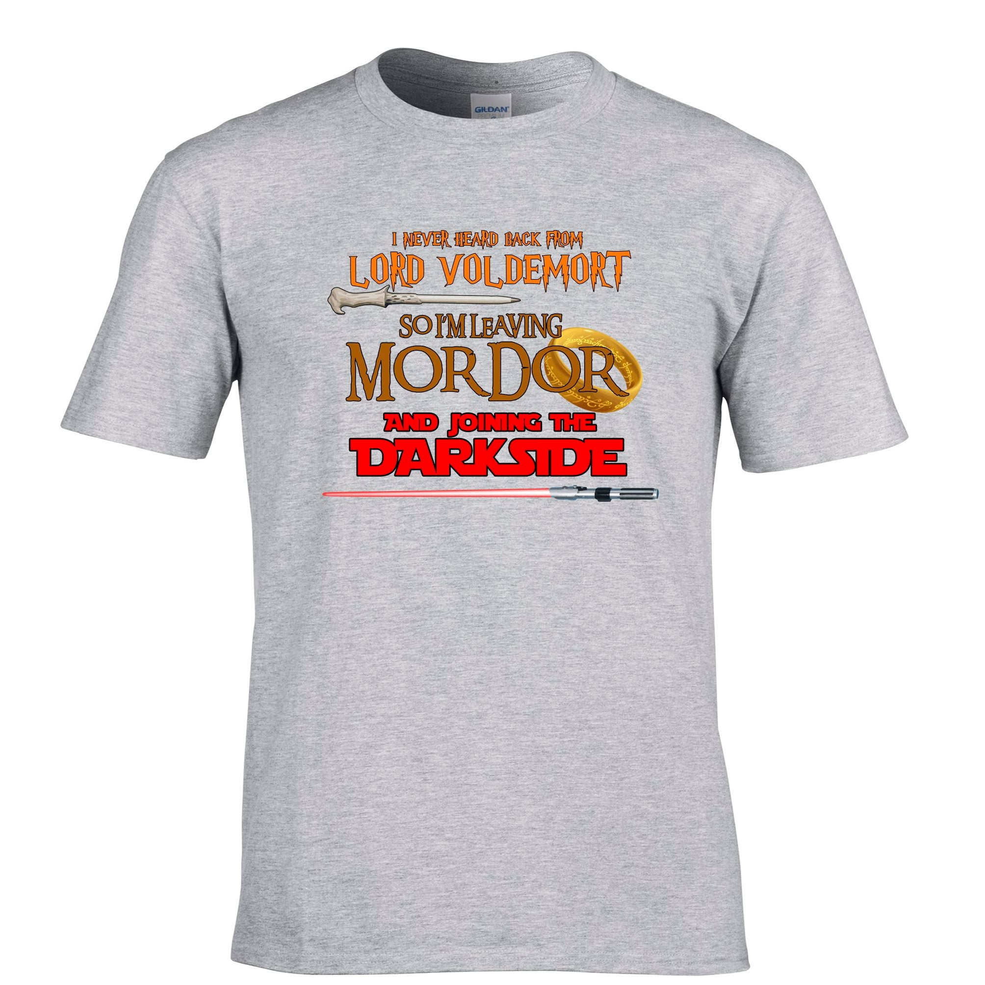 Mens Voldemort, Mordor, Dark Side T Shirt Tee