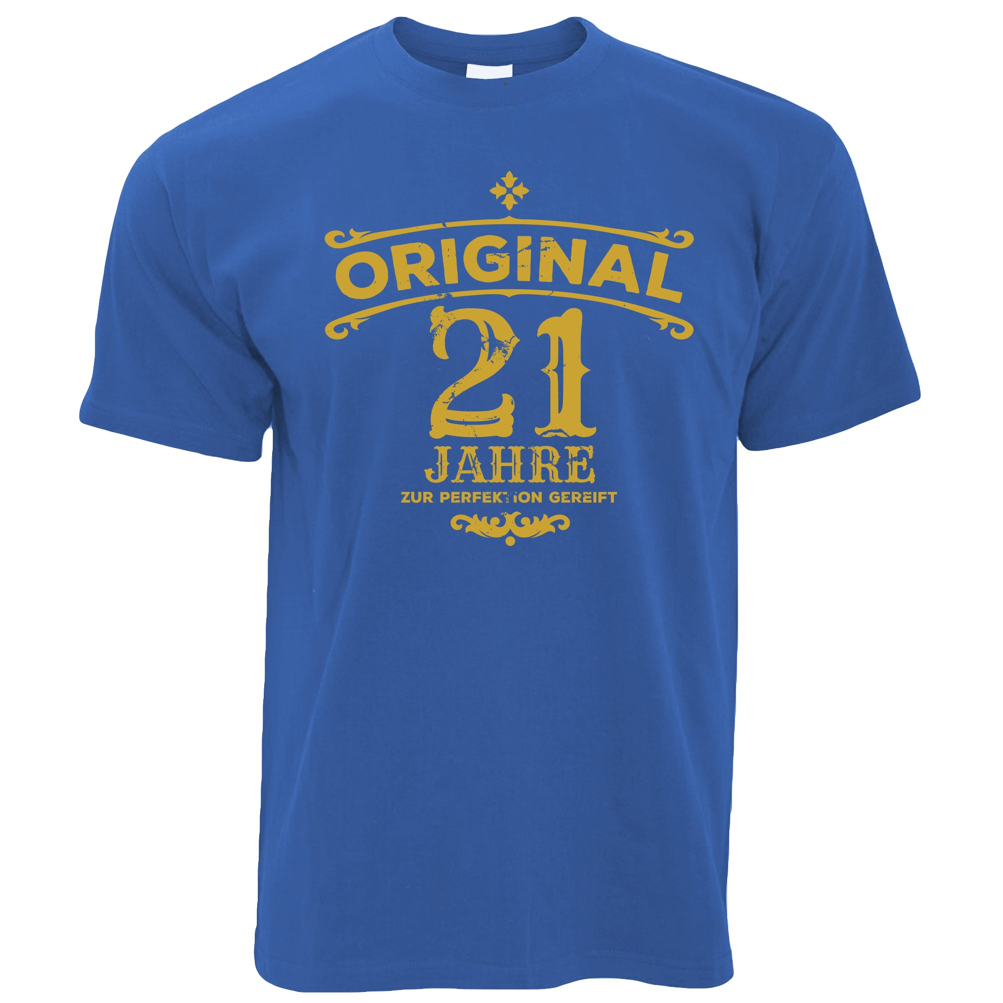 Mens 21st Birthday T Shirt Original Aged Years Twenty One Tee