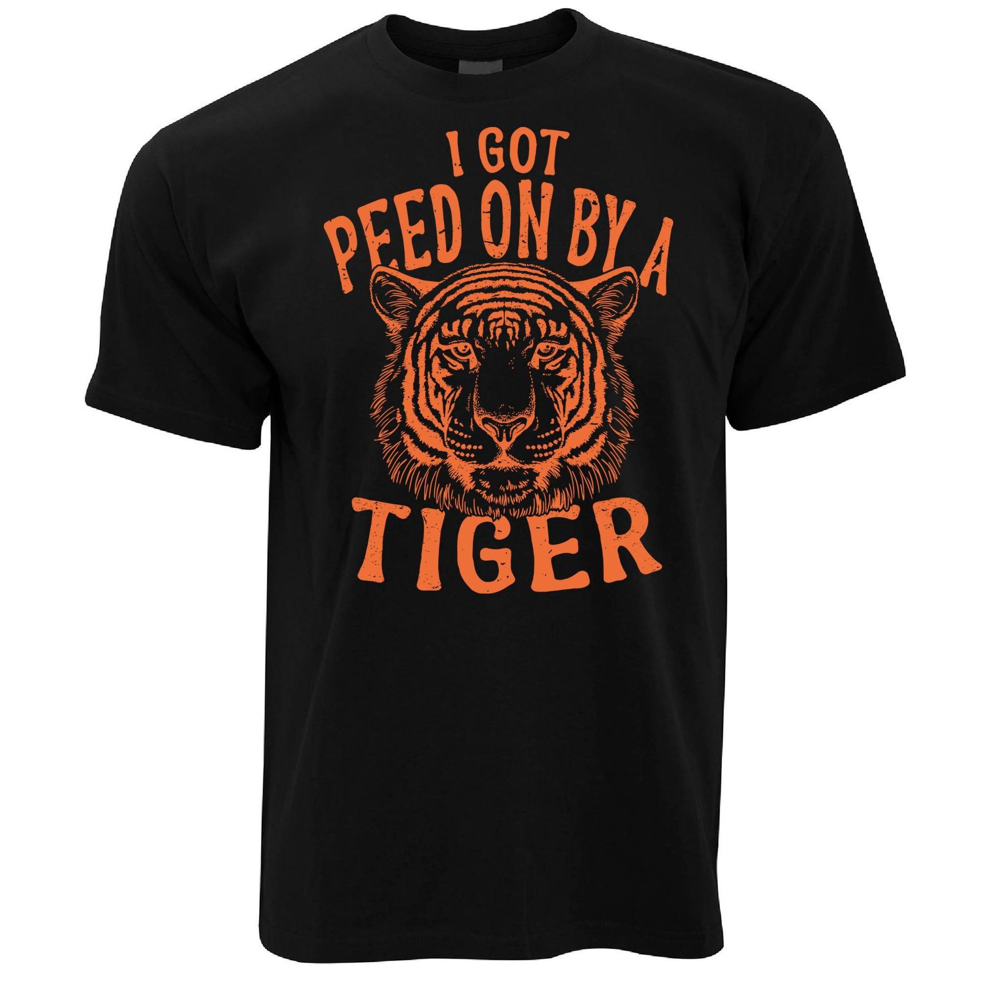 Exotic T Shirt I Got Peed On By A Tiger King
