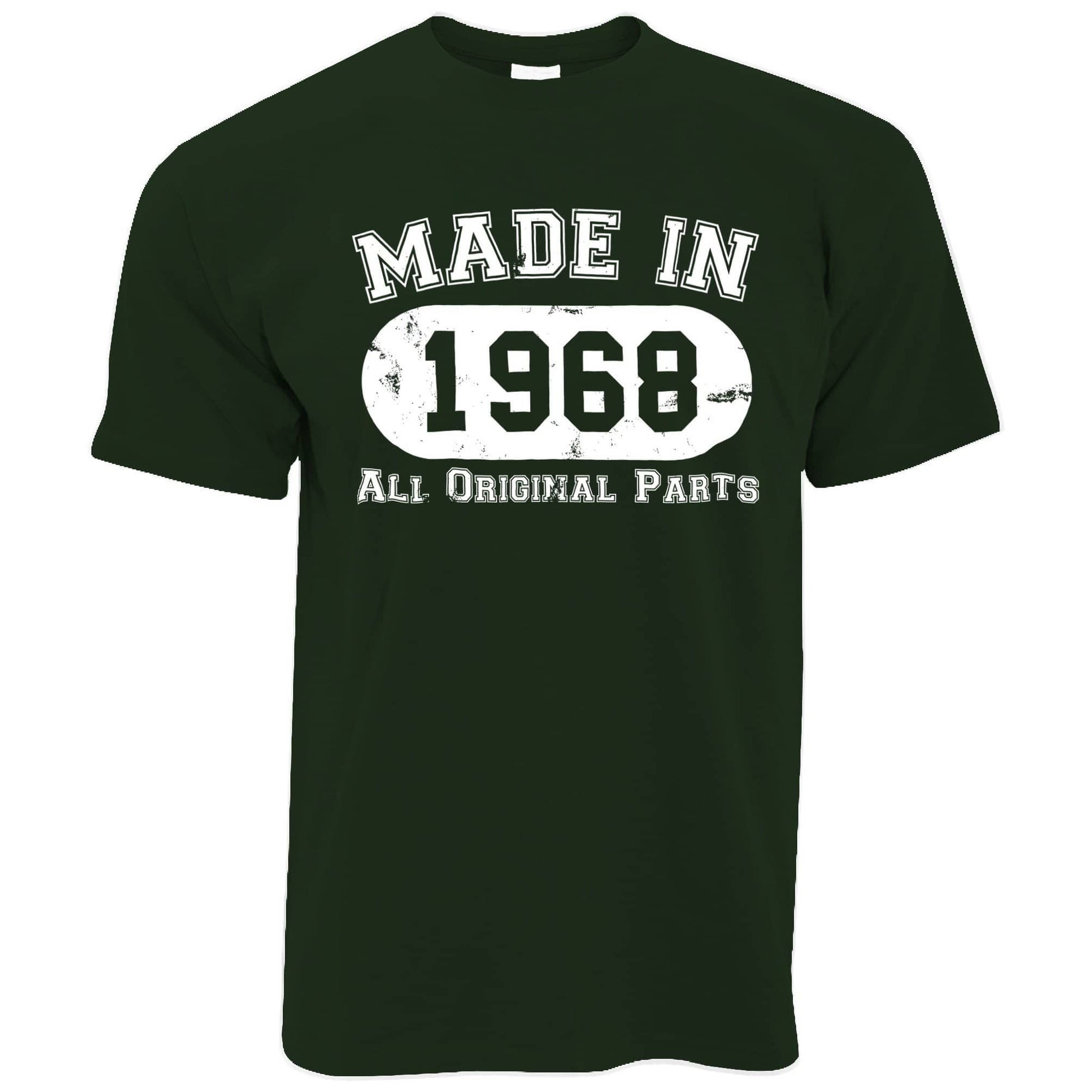 Made in 1968 All Original Parts Mens T-Shirt [Distressed]