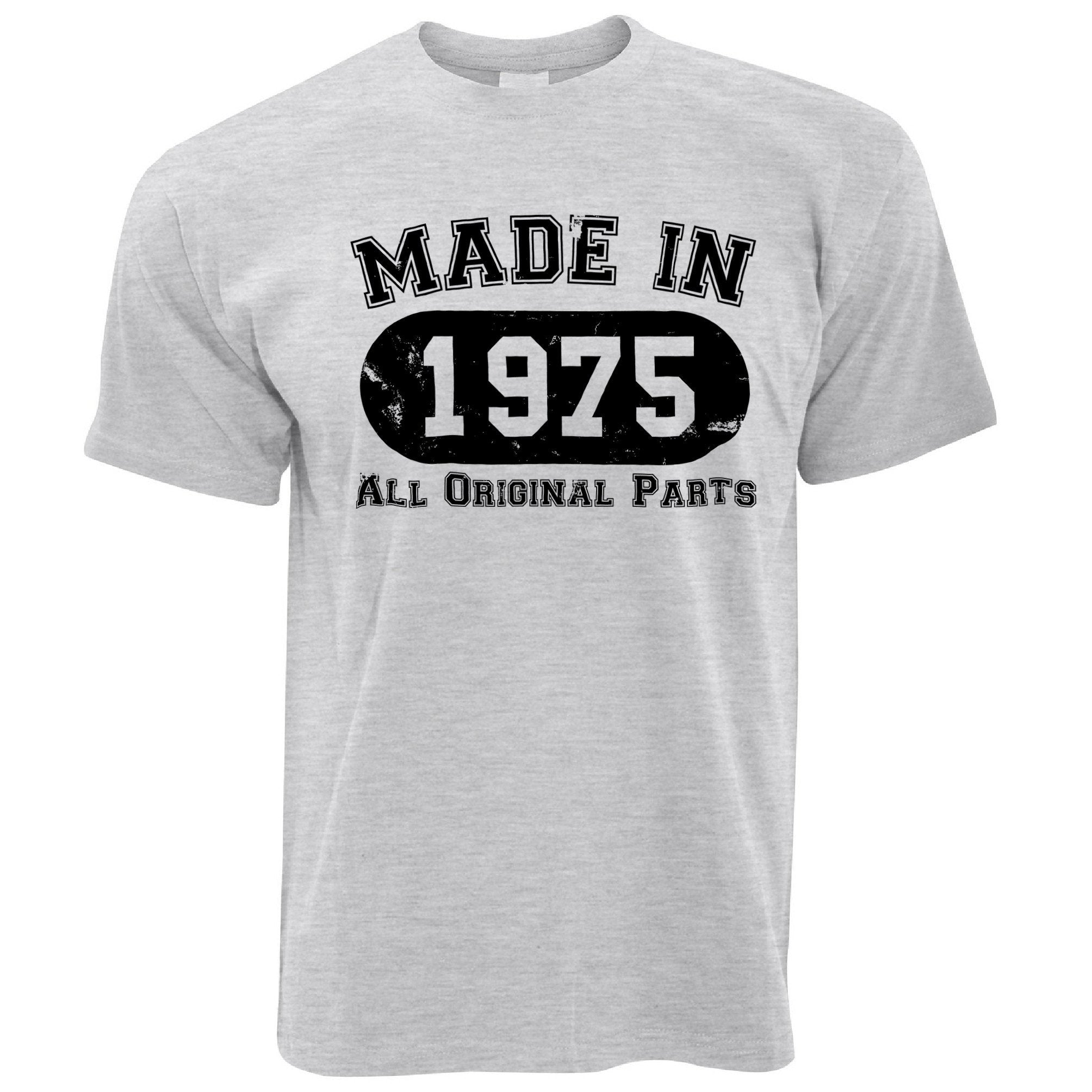 Made in 1975 All Original Parts Mens T-Shirt [Distressed]