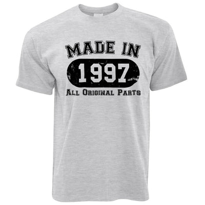 Made in 1997 All Original Parts Mens T-Shirt [Distressed]