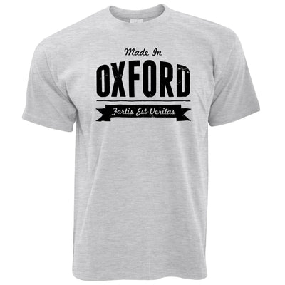 Hometown Pride T Shirt Made in Oxford Banner
