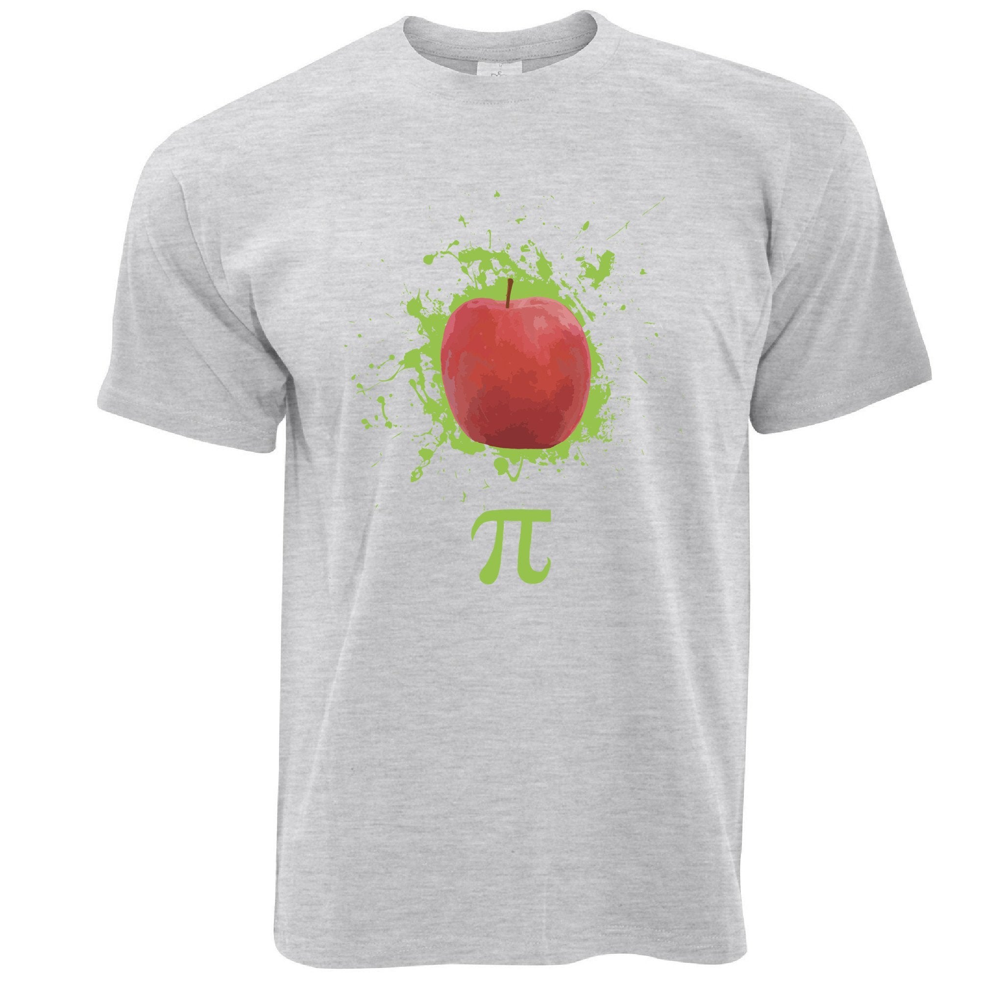 Novelty T Shirt Apple Pie Pi Math Pun Joke