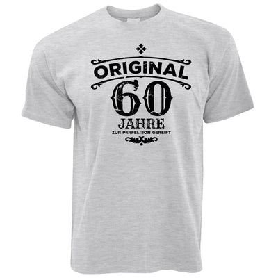 60th Birthday T Shirt Original Aged 60 Sixty Years