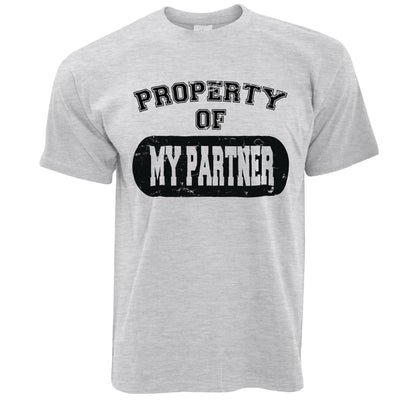 Valentine's Day T Shirt Property Of My Partner