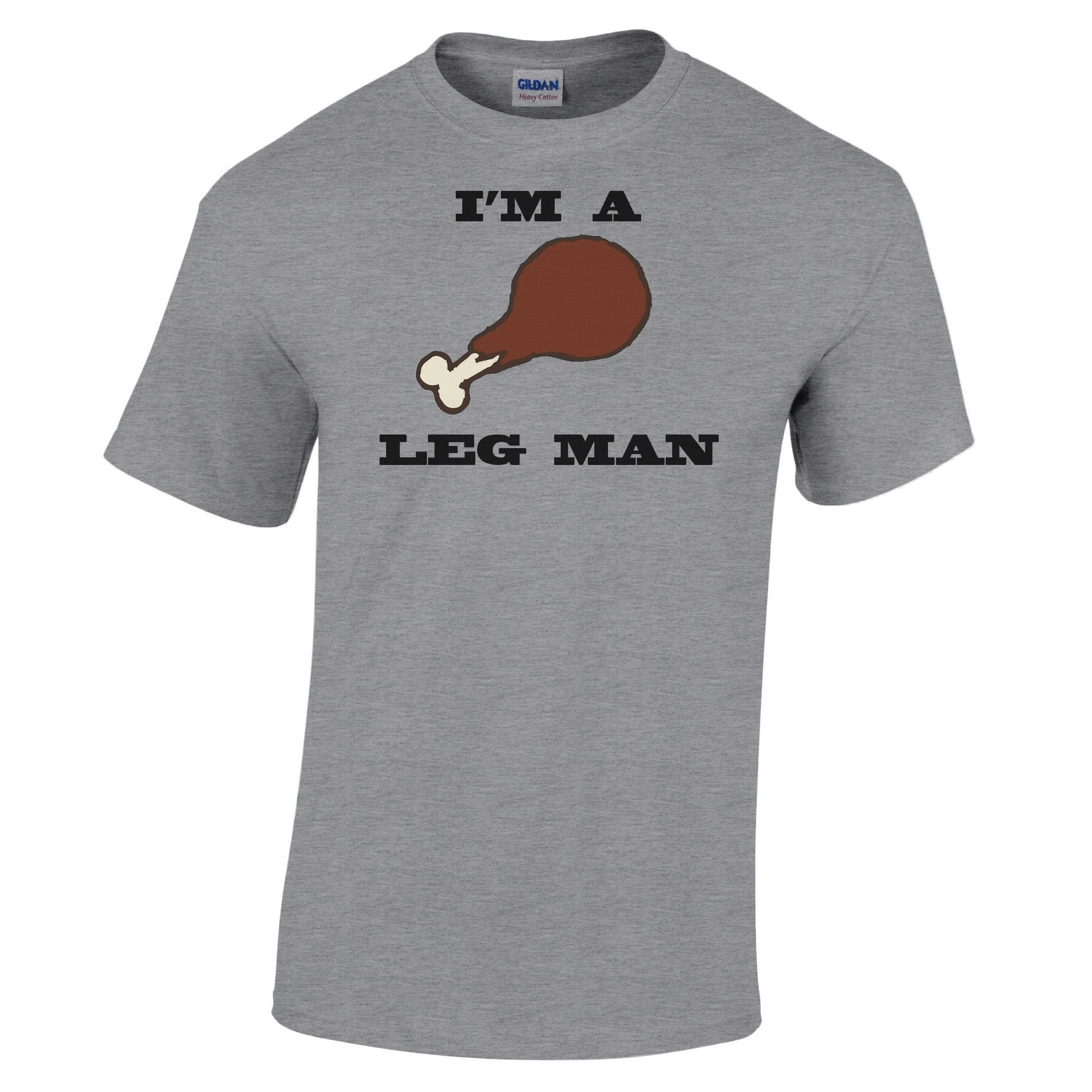 Thanksgiving T Shirt I'm A Leg Man Drumstick Slogan