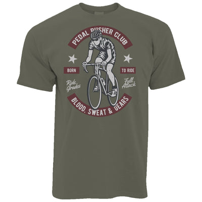 Cycling T Shirt Pedal Pushers Cyclist Biker Club
