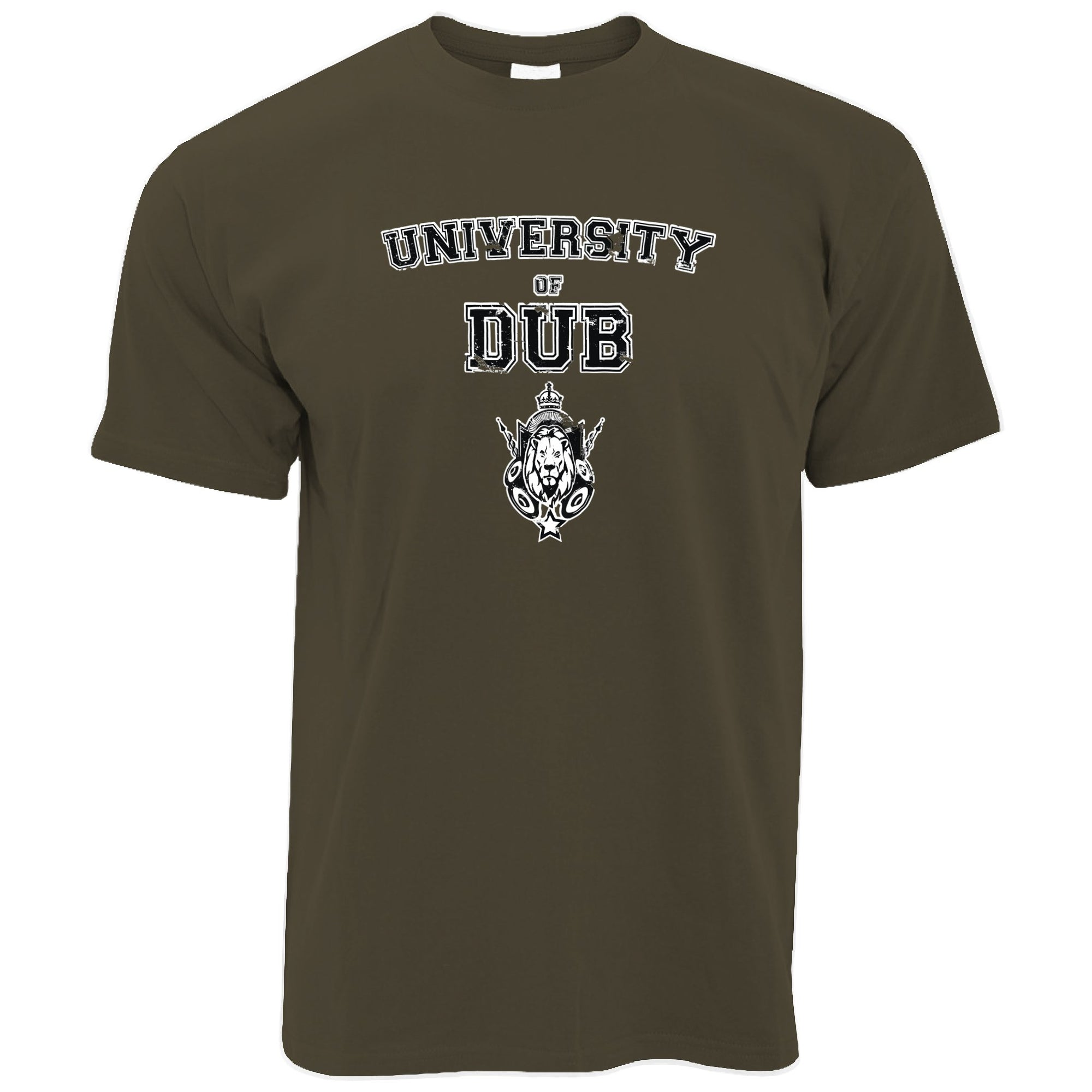 Music T Shirt University Of Dub Slogan