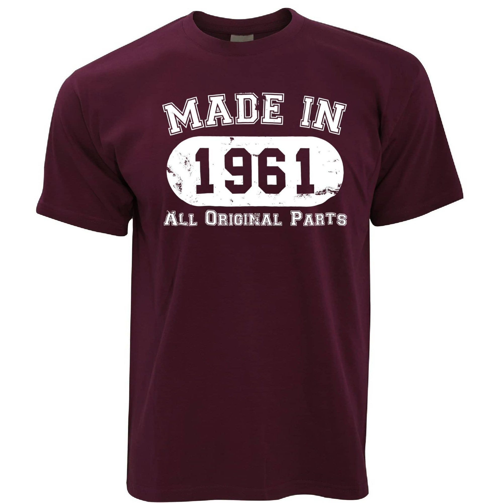 Made in 1961 All Original Parts Mens T-Shirt [Distressed]