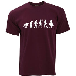 Funny Novelty T Shirt The Evolution of Shopping
