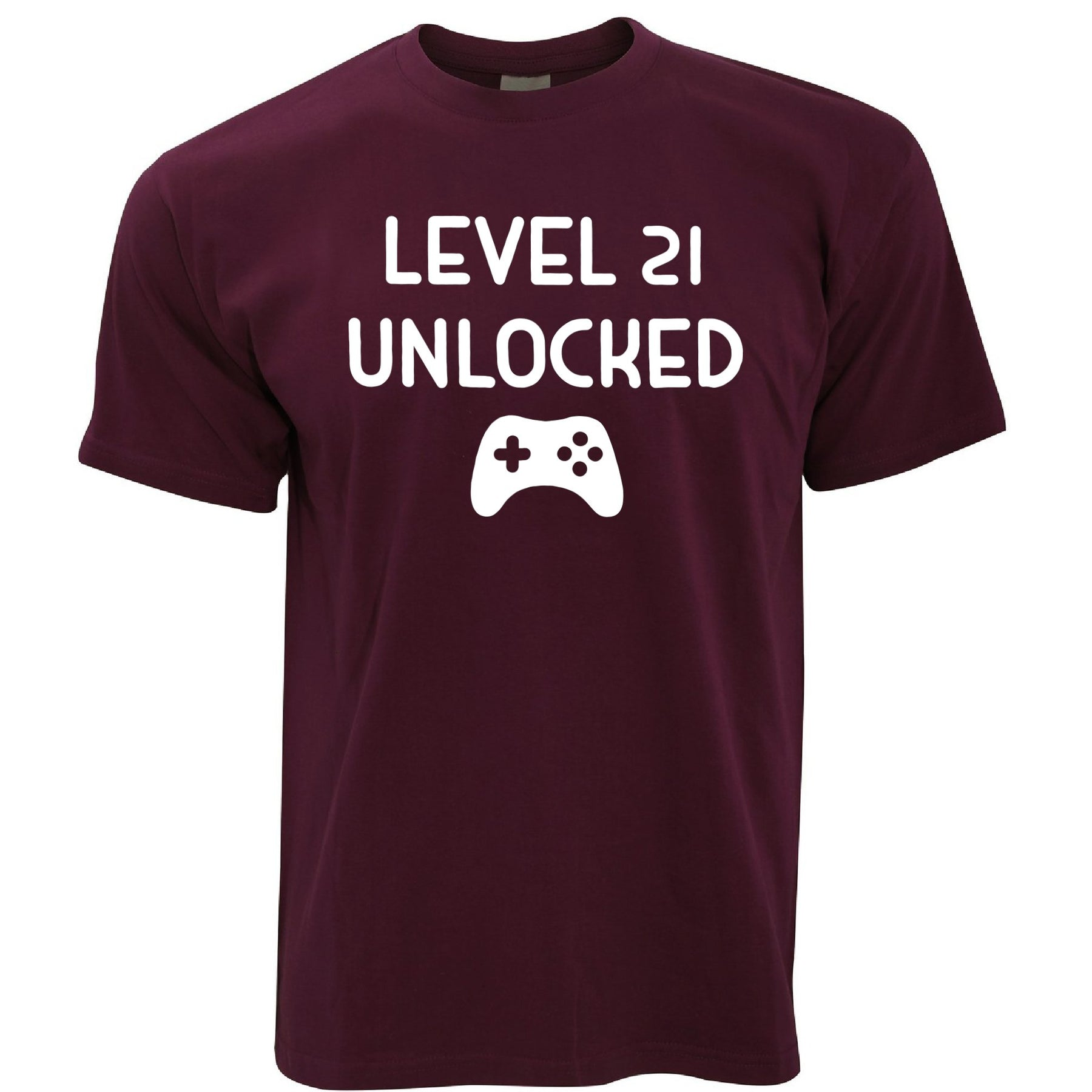 21st Birthday Mens T Shirt For Gamers