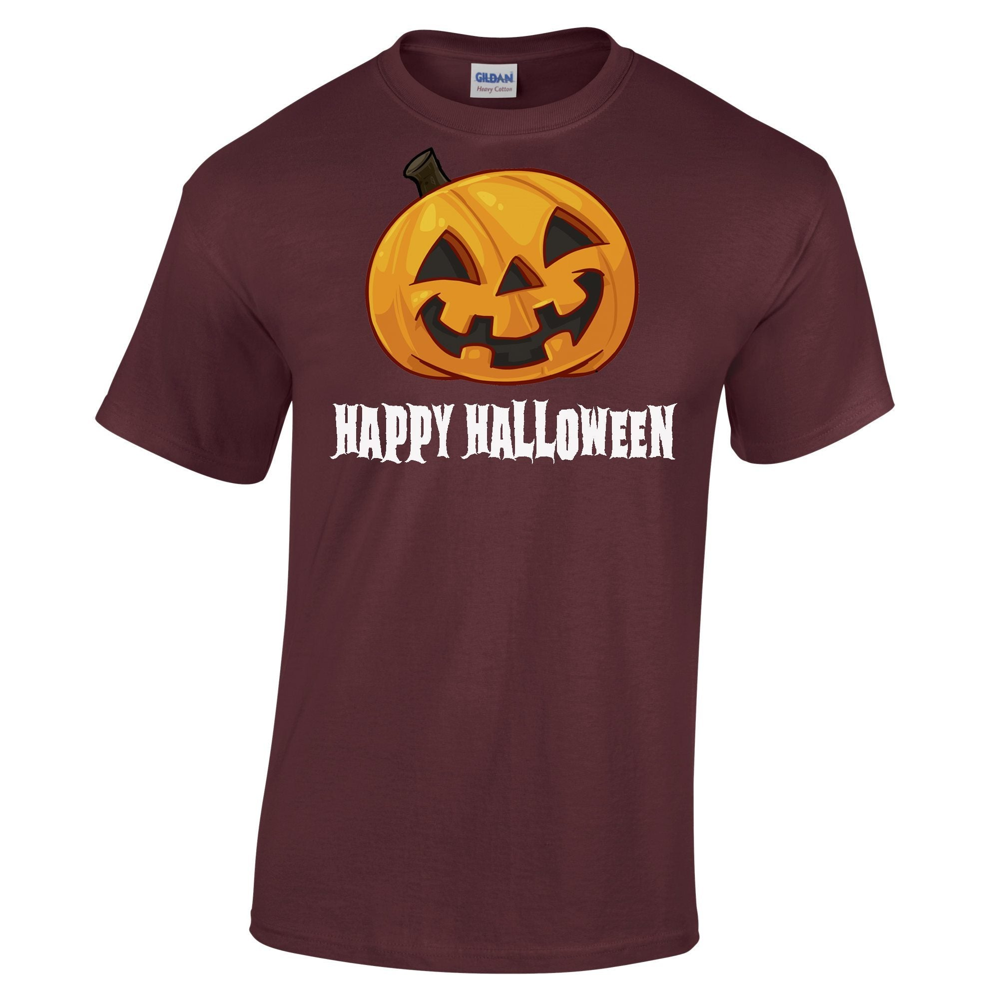 Happy Halloween T Shirt Jack O Lantern